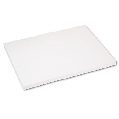 Pacon Medium Weight Tagboard, 24 x 18, White, 100/Pack - PAC5290