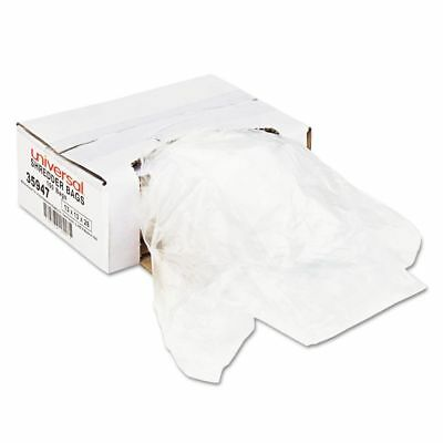 Universal Recycled/Recyclable Shredder Waste Bags - UNV35947