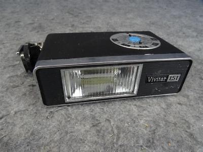 Vivitar 151 Electronic Flash With Case