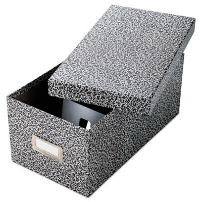 Oxford Reinforced Board Card File, Lift-Off Cover, Holds 1,200 4 x 6 - OXF40589