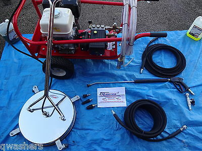 Pressure Washer Business Package Kit Honda Driveway Patio Cleaning Pay Out Once