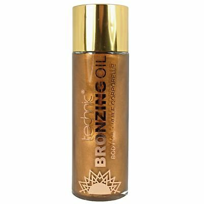Technic Shimmering Bronzing Dry Body Oil Self Tanning Wash Off Sun Kissed Glow