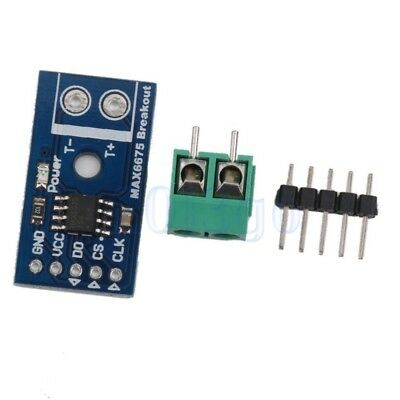 MAX6675 Capteur Température Thermocouple 3~5,5V Type Module K SPI For Arduino HG