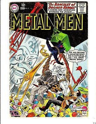 Metal Men 4 (1963): FREE to combine- in Good/Very Good condition