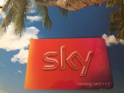 FREESAT  SKY HD VIEWING CARD INCLUDES SONY MOVIE CHANNELS! Tested