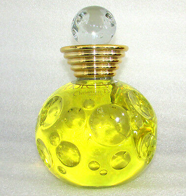 Vintage Dolce Vita Christian Dior Paris Factice Glass Perfume Display Bottle