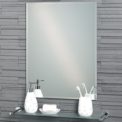 "Rectangular Bevelled Edge ""Fairmont"" Bathroom Mirror 