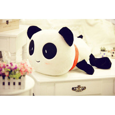 Stuffed Giant Prone Lie Panda Pillow Plush Toys Presents Home Kid Child