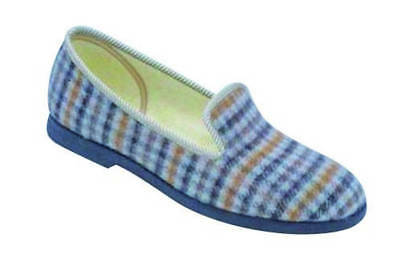 GBS Everett Mens Classic Mens Slippers Size 11 Grey Textile
