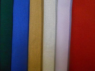 Evenweave Fabric Grab Bag of coloured 125g offcuts