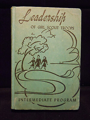 Leadership of Girl Scout Troops ~ Vintage 1943 Hardback ~ Collectible
