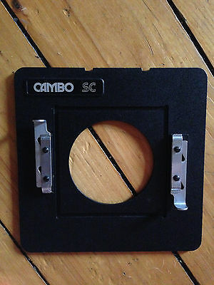 4x5 Camera Adapting Lensboard used with Cambo SC SC-2