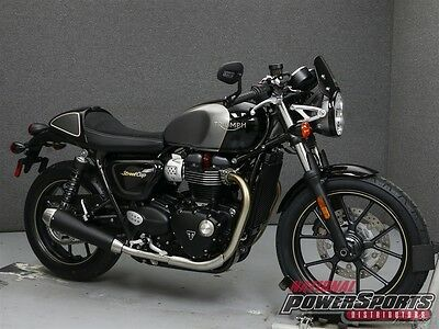 Triumph Street Cup  2017 Triumph Street Cup Used