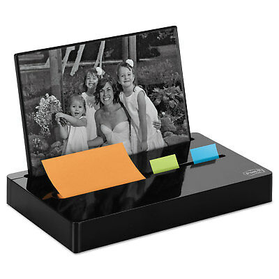 Post-it Pop-up Notes/Flag Dispenser Plus Photo Frame with 3 x 3 - MMMPH100BK