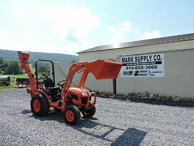 2013 Kubota B2320 Compact Tractor Loader Backhoe Diesel 4X4 Thumb 3 Point Hitch