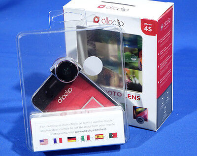Olloclip 4-in-1 Photo Lens for iPhone 4/4s (Macro, Fisheye, Wide-Angle) #L1015EW
