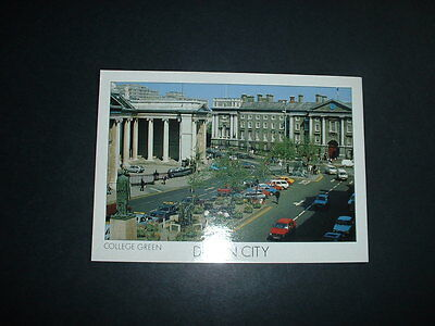 . Ireland College Green Dublin  Postcard Not Posted  (Light Is From Camera