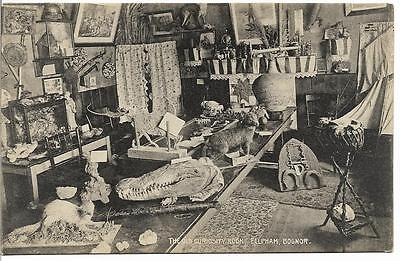 Vintage Postcard.the Old Curiosity Room, Felpham,bognor Regis,west Sussex.