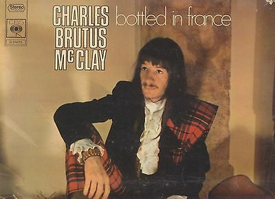 CHARLES BRUTUS McCLAY LP Folk Psych BOTTLED IN FRANCE + chanteur DAVE 2 titres !
