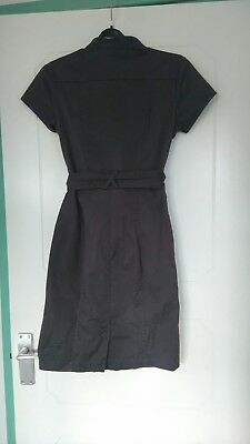 Grey H&M shirt dress with pockets (size 6)