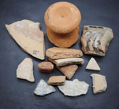 Nice Lot Of Ancient Roman Thames Foreshore Finds