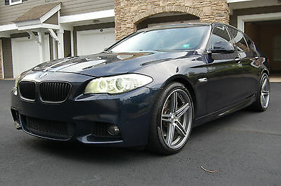 2013 BMW 5-Series 550i M-SPORT Sedan 4-Door 2013 BMW 550i LEATHER SUNROOF M-SPORT AC SEATS NAV REAR CAM