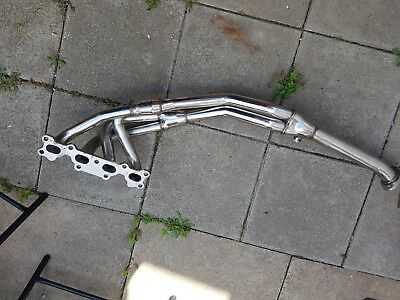 mx5 mk1 stainless steel exhaust manifold