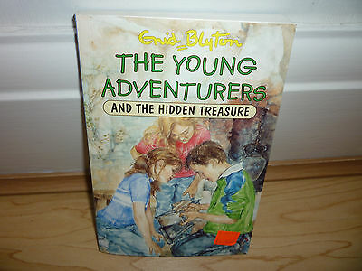 """""""THE YOUNG ADVENTURERS & THE HIDDEN TREASURE"""" by ENID BLYTON - BRAND NEW"""