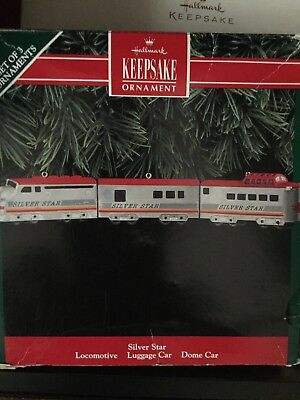 Hallmark keepsake locomotive Ornament New