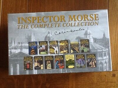Colin Dexter Inspector Morse The Complete book collection 13 books boxed