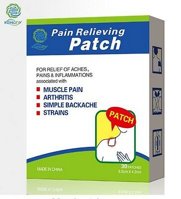 6 Patchs chauffant anti douleur relaxant  Muscles Sport Dos Cou   Y3