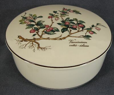 Villeroy & Boch Botanica Candy Box with Lid Round Vaccinium Porcelain