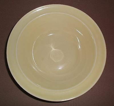 """Luray Pastels Yellow Serving rimmed Bowl 9"""" mint TS&T"""