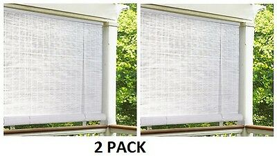pvc roll up blinds diy outdoor 2 new lewis hyman 0321086 96 2