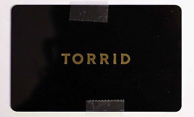 NEW Torrid $100 Gift Card Trendy PlusSize Clothing 10% Discount 100%RATED SELLER