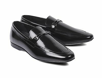 e4d744f705e Versace Collection Medusa Black Patent Leather monk Dress Shoes Loafers new  441