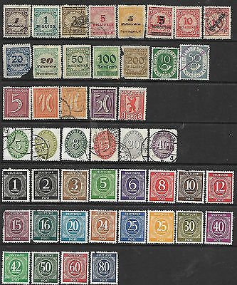 Collection Of Germany Stamps