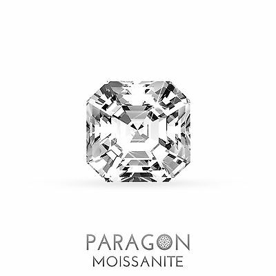 Paragon Moissanite Loose Asscher Cut Best Diamond Alternative