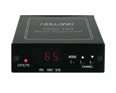 HMM-10H Holland Electronics Agile UHF Cable TV Mini Modulator NEW with Warranty