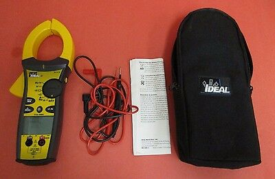 IDEAL 61-775 1000A AC/DC TightSight True RMS Clamp Meter - NICE!!