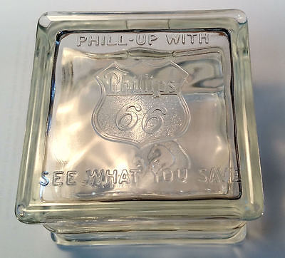 ca. 1930s Rare Phillips 66 Glass Bank - Near Mint Condition