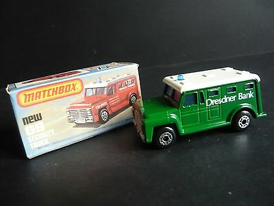 MATCHBOX 1-75 SECURITY TRUCK (No.69)