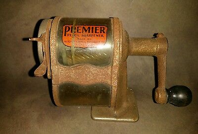 Vintage Premier Pencil Sharpener By Automatic