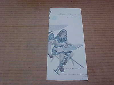 1954 Mother & Daughter Matching Ironing Boards Montgomery Ward Mary Proctor