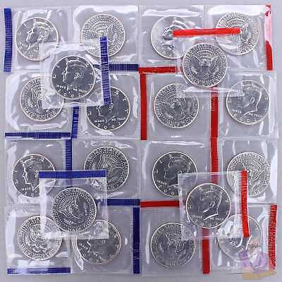 2002 P D Kennedy Half Dollar Mint Cello Roll 20 US Coin Lot