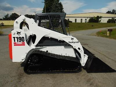2005 Bobcat T190 Rubber Track Skid Steer Loader