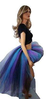 Adult Peacock Bustle - High Low Tutu