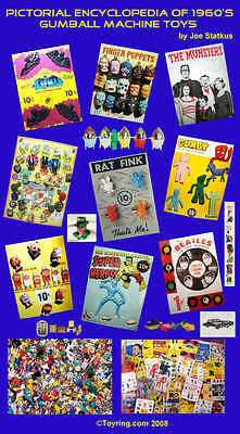 Pictorial Encyclopedia of 1960's Gumball Machine Toys on CD!