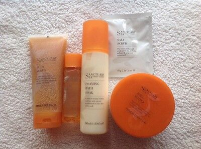The Sanctuary Spa Luxury Products - 5 Items