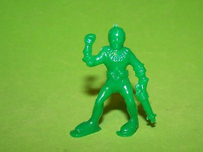 Rare! 1953 Post's Cereal Lido Captain Video Space Man Green Hard Plastic Alien